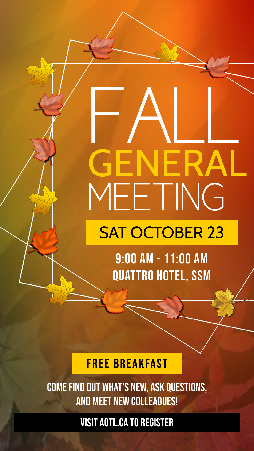 Read more about the article AOTL Fall General Meeting