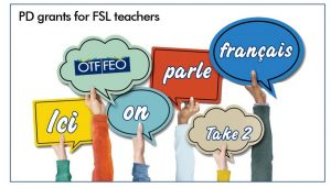 Read more about the article PD Grants for FSL Teachers