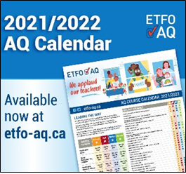 Read more about the article ETFO AQ Course Calendar 2021-22