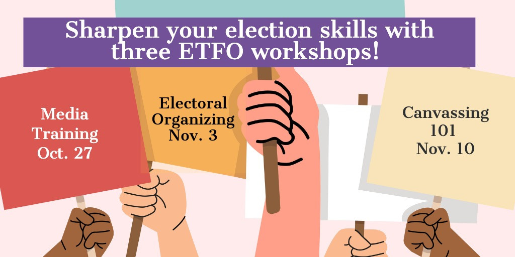 Read more about the article Fall Organizing Training Series