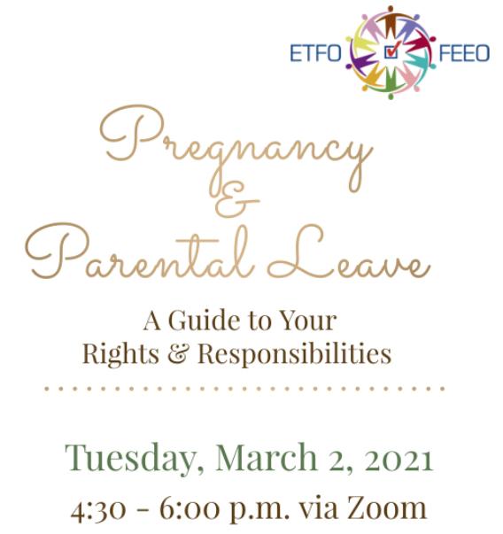 Pregnancy & Parental Leave Workshop